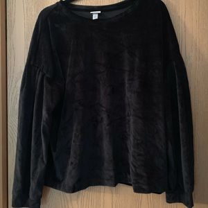 Black Velvet Top (never worn)